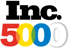 Logo for making Inc 5000's list of fastest growing companies in 2018